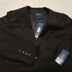 ⬇️Women's Plus Size Blazer Jacket Black Curvy 16